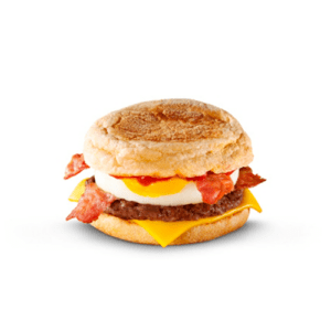 McDonalds Mighty McMuffin Beef